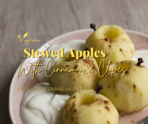 Stewed Apples with Cinnamon & Cloves